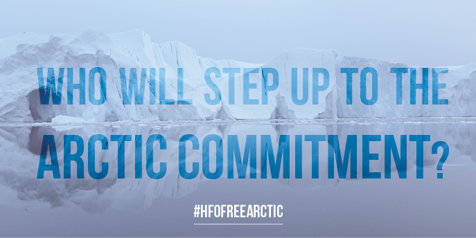Who will step up to the Arctic Commitment