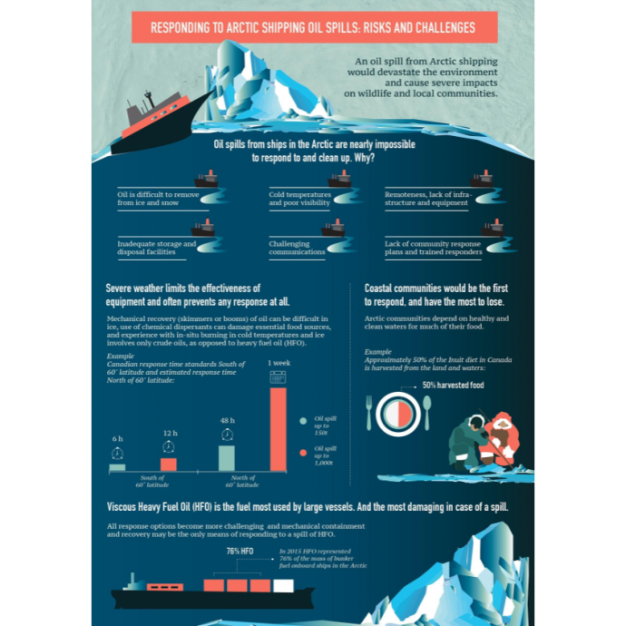 Responding to Arctic Shipping Oil Spills: Risks and Challenges