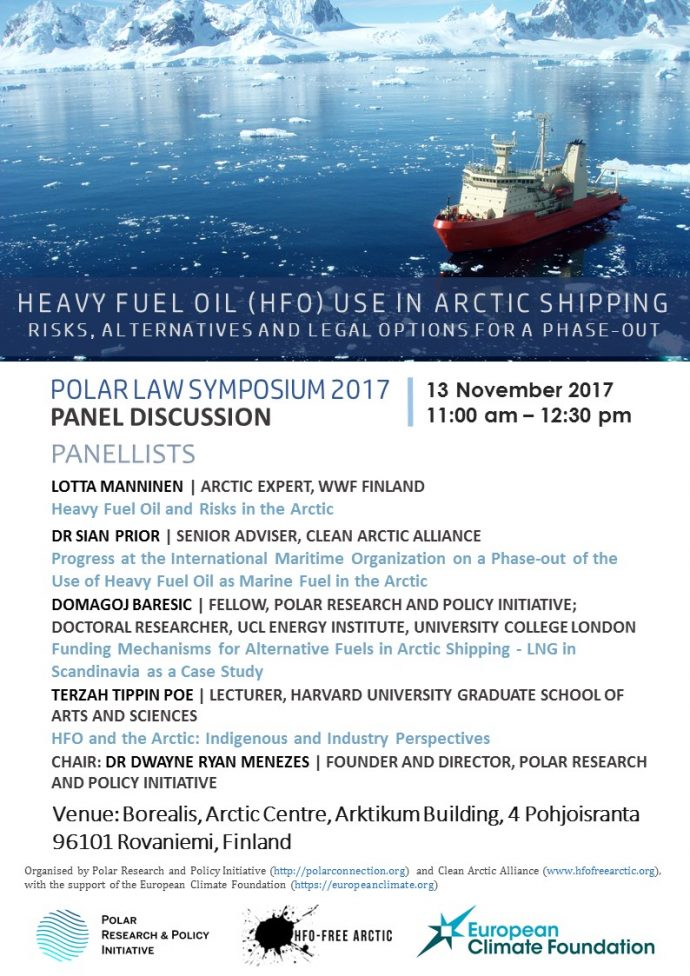 Polar Law Symposium Poster
