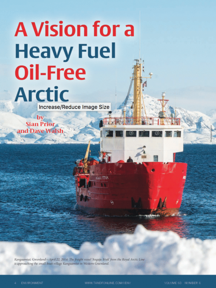 A Vision for A HFO Free Arctic