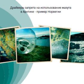 Драйверы запрета на использование мазута в Арктике - пример Норвегии