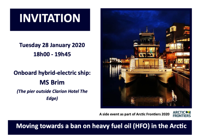"""Moving towards a ban on heavy fuel oil (HFO) in the Arctic"