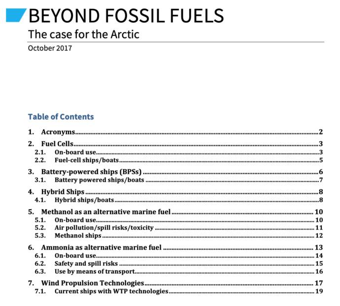 Beyond Fossil Fuels: The Case for the Arctic