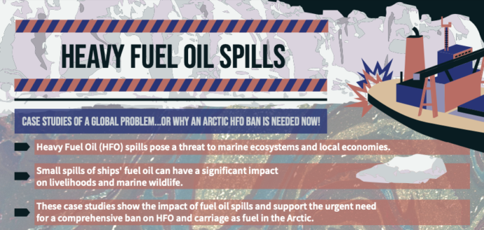 Infographic: Heavy Fuel Oil Spills - Case Studies of a Global Problem