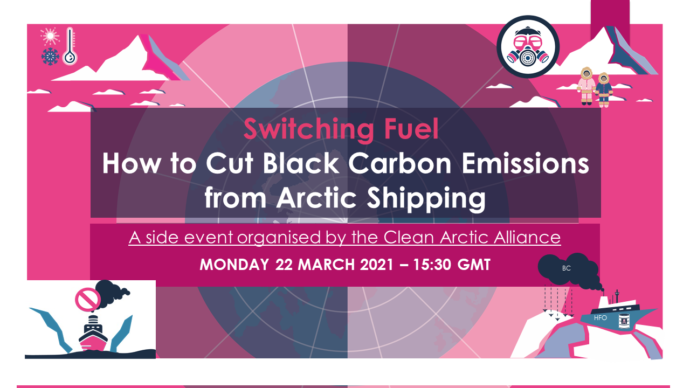 Webinar: Switching Fuel - How to Cut Black Carbon Emissions from Arctic Shipping