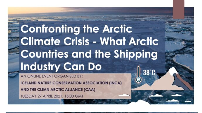 Webinar Invitation: Confronting the Arctic Climate Crisis - What Arctic Countries and the Shipping Industry Can Do