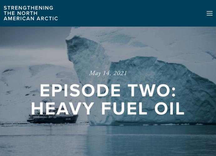 Breaking the Ice: Heavy Fuel Oil